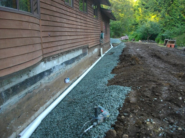 Perimeter Drains In Langley Mr Rooter Plumbing Of Langley