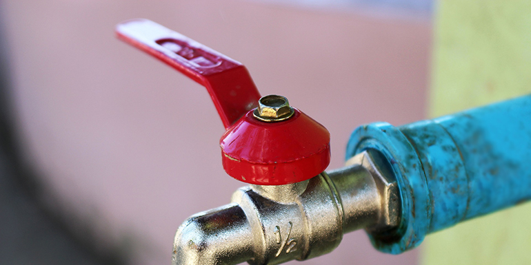 Your Main Water Valve How To Turn It Off Mr Rooter