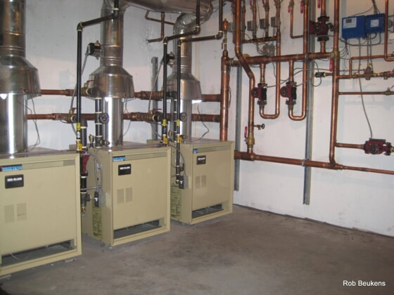 Boiler and Pipe System