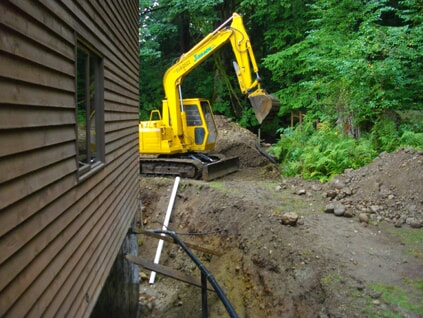 Perimeter Drain Trench and Digging Process