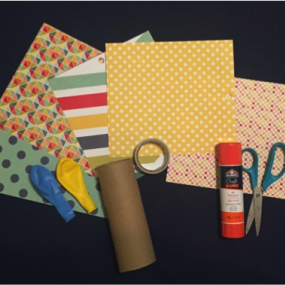 supplies for toilet roll crafts