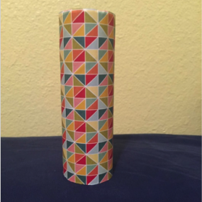 gift wrapped toilet paper roll