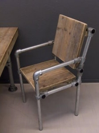 steel plumbers pipe chair