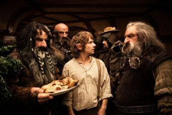 Frodo and the dwarves in Lord of the Rings