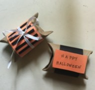 Halloween toilet roll crafts