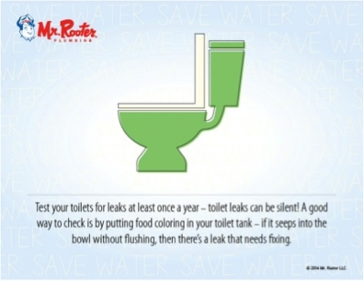 toilet test graphic