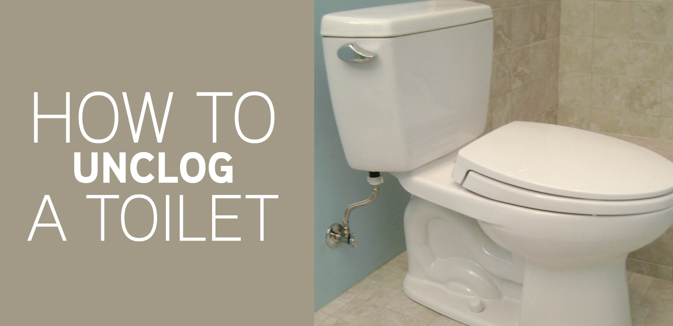 How to Unclog a Toilet | Mr. Rooter