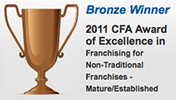 2011 CFA Bronze Winner logo