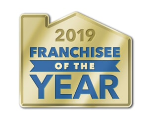 2019 Franchisee of the year logo
