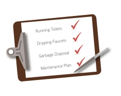 common plumbing repairs checklist